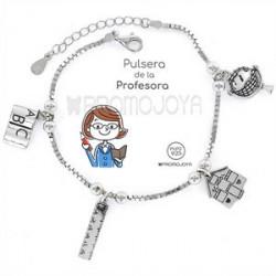 Pulsera en plata de ley Profesora - 9101770