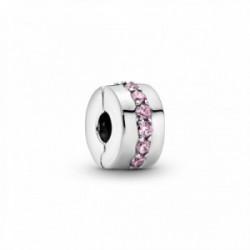 Clip Sendero Luminoso Rosa Pandora - 791972PCZ