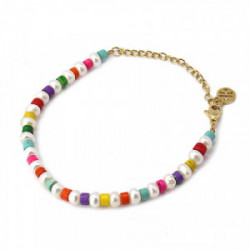 Anartxy Pulsera Multi color Perlas - BPU019COM