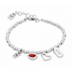 Uno de 50 Pulsera I´m waiting 4 u red - PUL1852ROJ