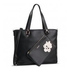 Liujo Shopping Bag Black - N19110E0009