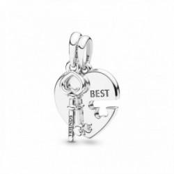 Pandora Charm Best Llave Corazón - 398130