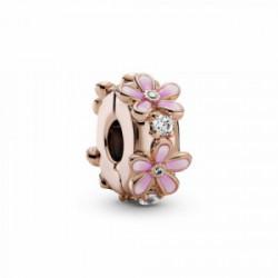 Pandora Rose Clip Margarita Esmalte Circonita - 788809C01
