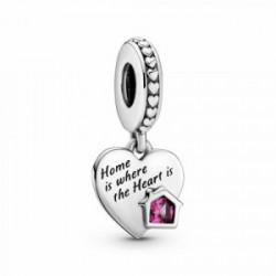 Pandora Charm Colgante en plata de ley Hogar y Corazón - 799324C01