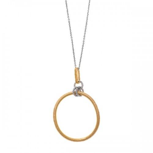 Pendiente plata de ley 925 DIAMONFIRE perla