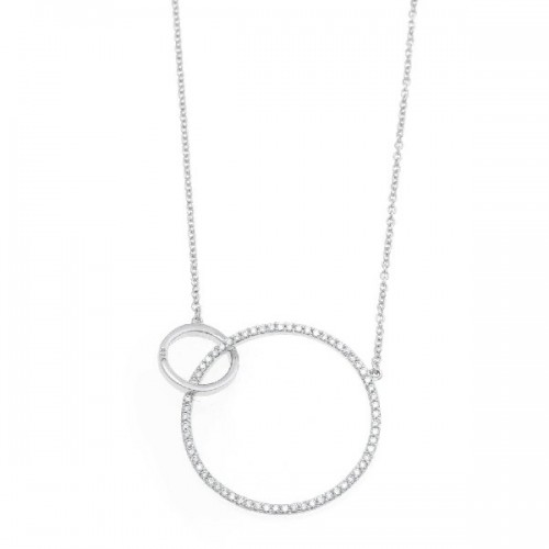 Pendientes plata 925 Rosé Salvatore