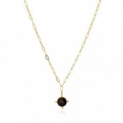 Anartxy Collar Natural Stone Negra - BCO122N