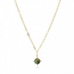 Anartxy Collar Natural Stone Verde - BCO122VER