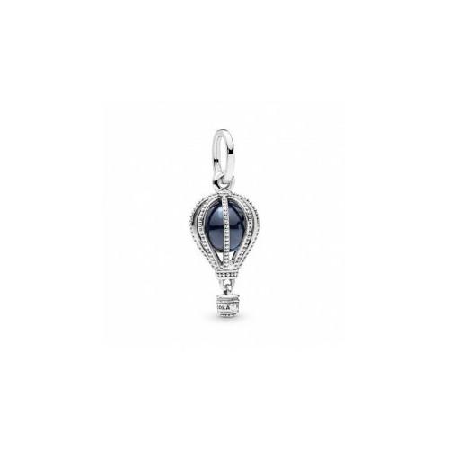Pandora anillo plata esfera perla